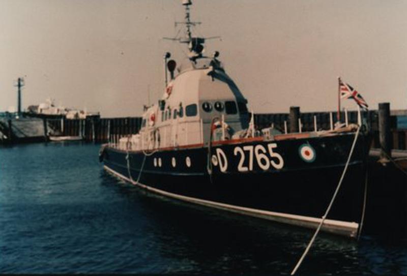 Alongside in List Harbour