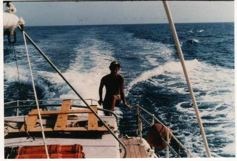Target towing in the Red Sea